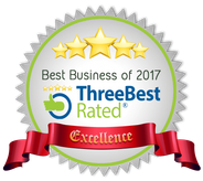 Best Business of 2017 - ThreeBest Rated Excellence
